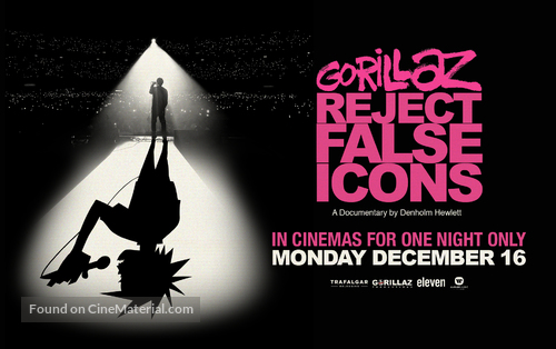 Gorillaz: Reject False Icons - poster