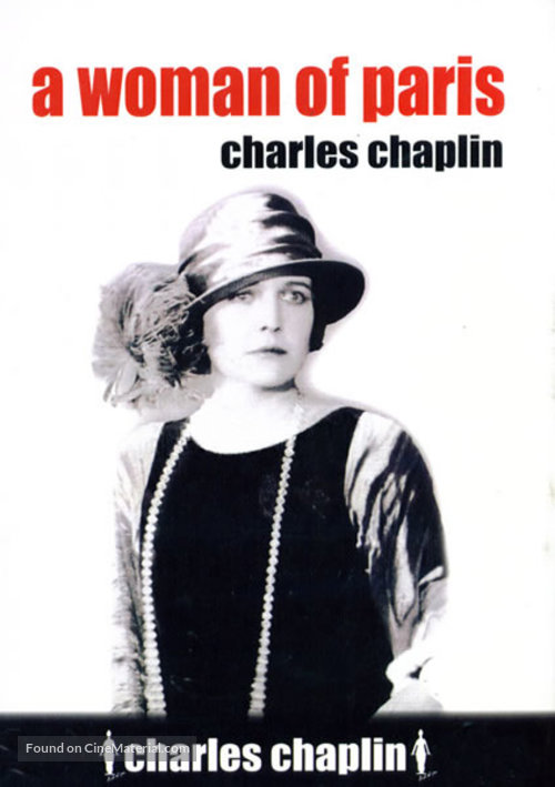 A Woman of Paris - DVD movie cover