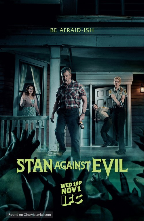 """Stan Against Evil"" - Movie Poster"