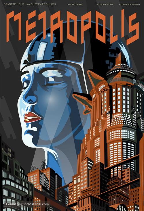 Metropolis - International Movie Poster