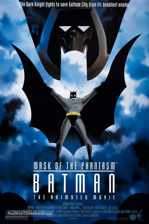 Batman: Mask of the Phantasm - Movie Poster