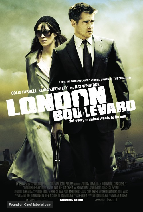 London Boulevard - British Movie Poster