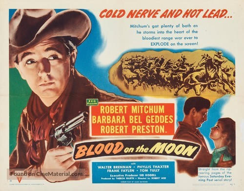 Blood on the Moon - Movie Poster