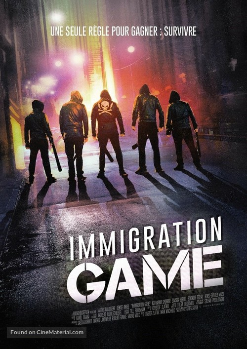 Immigration Game - French DVD movie cover