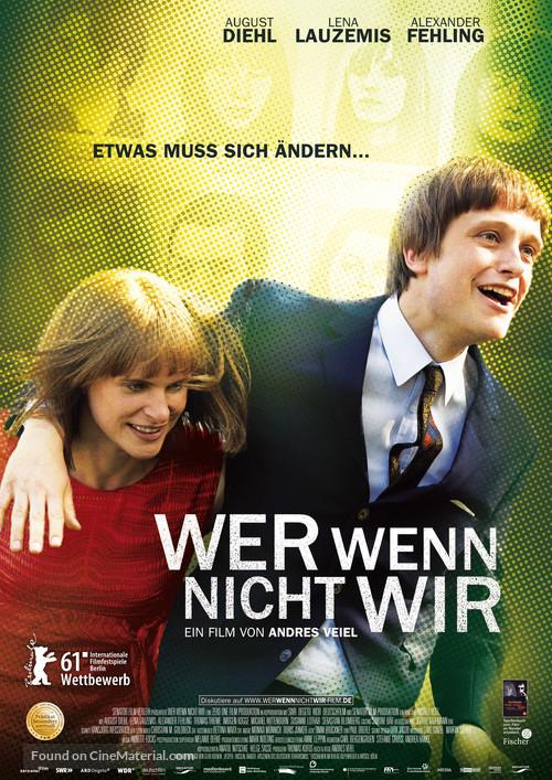 Wer wenn nicht wir - German Movie Poster