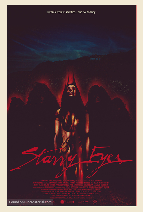 Starry Eyes - Movie Poster