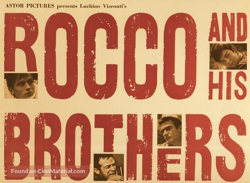 Rocco e i suoi fratelli - Movie Poster
