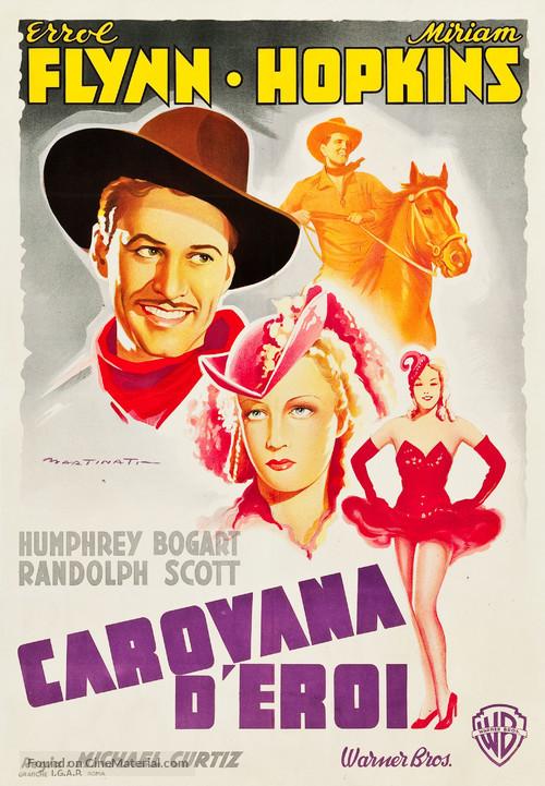 Virginia City - Italian Movie Poster