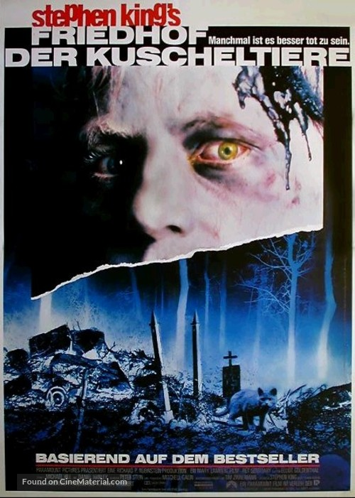 Pet Sematary - German Movie Poster