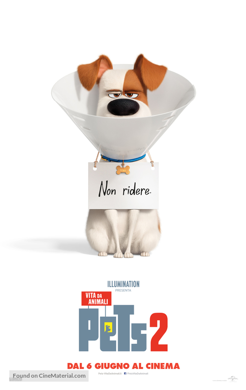 The Secret Life of Pets 2 - Italian Movie Poster