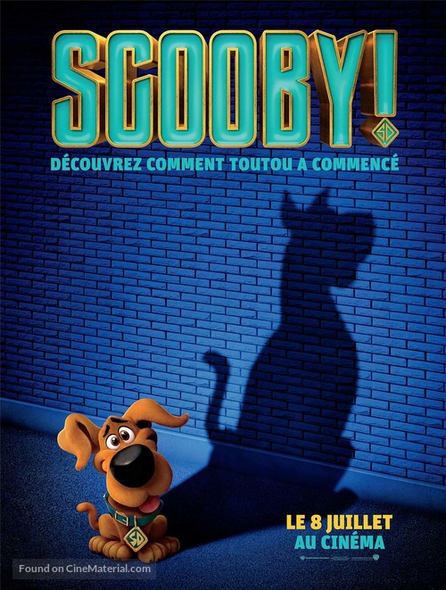 Scoob - French Movie Poster