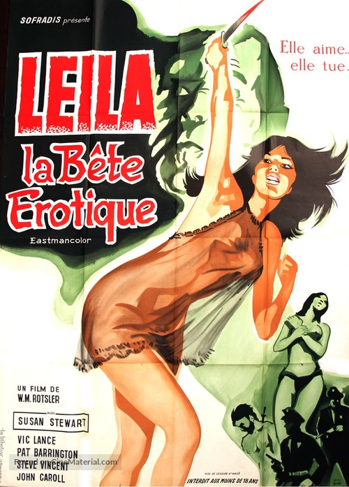 Mantis in Lace - French Movie Poster
