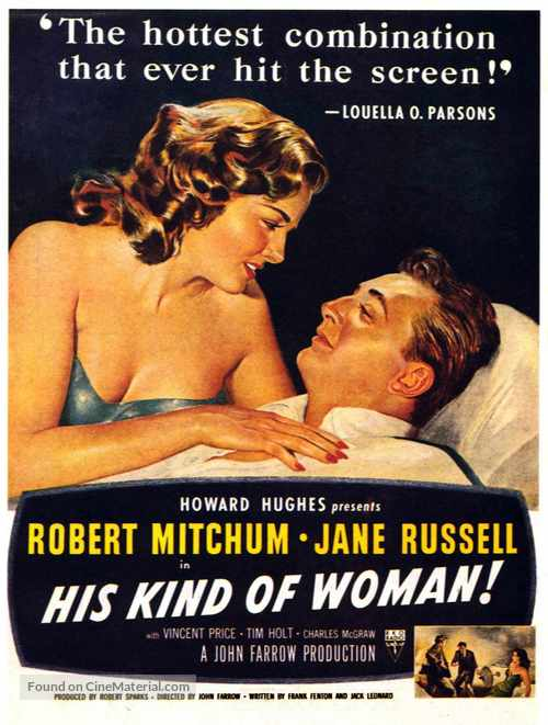 His Kind of Woman - Movie Poster