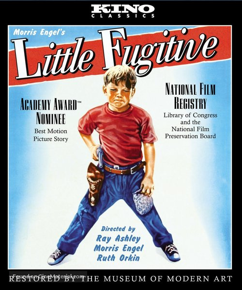 Little Fugitive - Blu-Ray movie cover