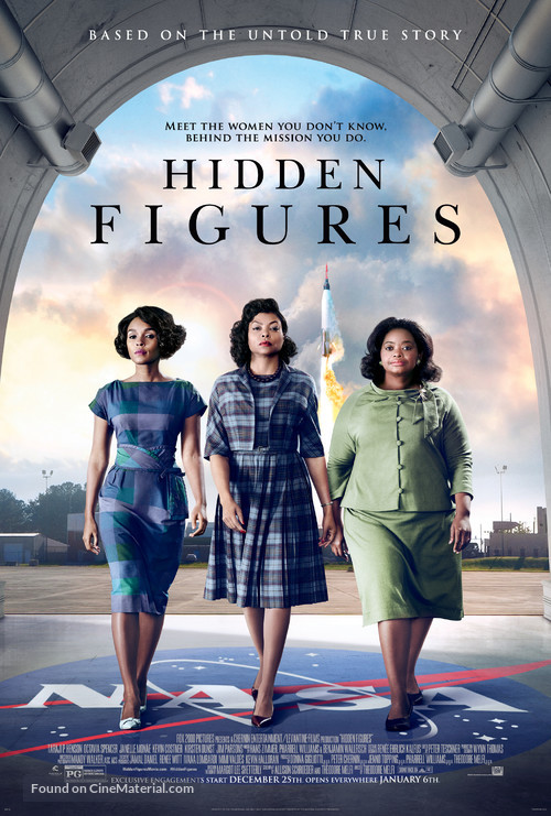 Hidden Figures - Movie Poster