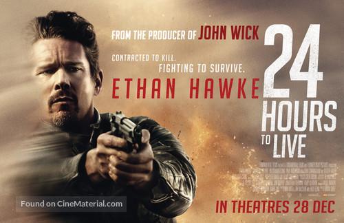 24 Hours to Live - Singaporean Movie Poster