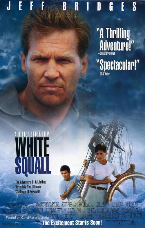 White Squall - Movie Poster