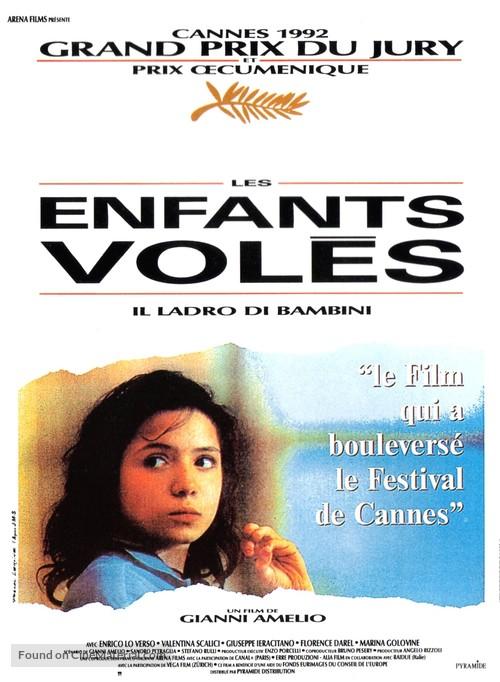 Ladro di bambini, Il - French Movie Poster