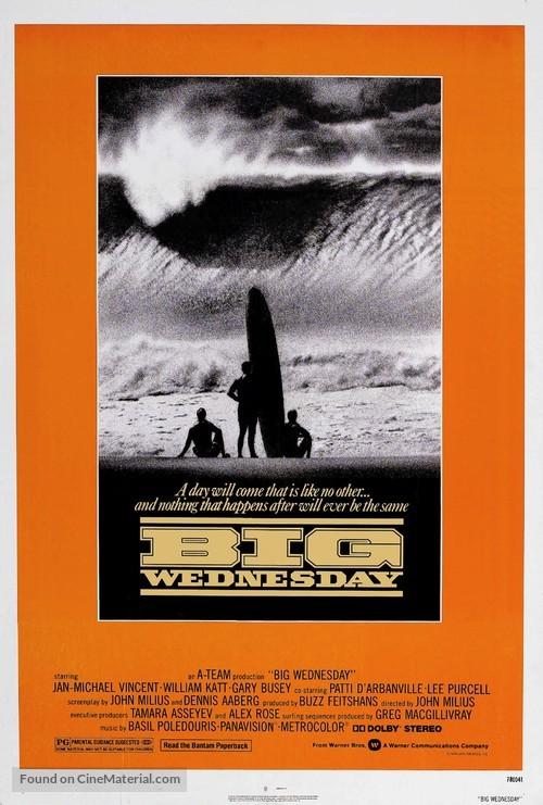 Big Wednesday - Movie Poster
