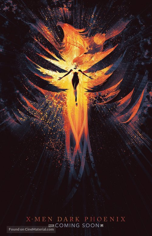 Dark Phoenix - International Movie Poster