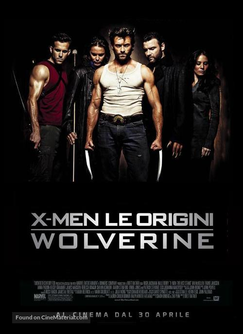 X-Men Origins: Wolverine - Italian Movie Poster