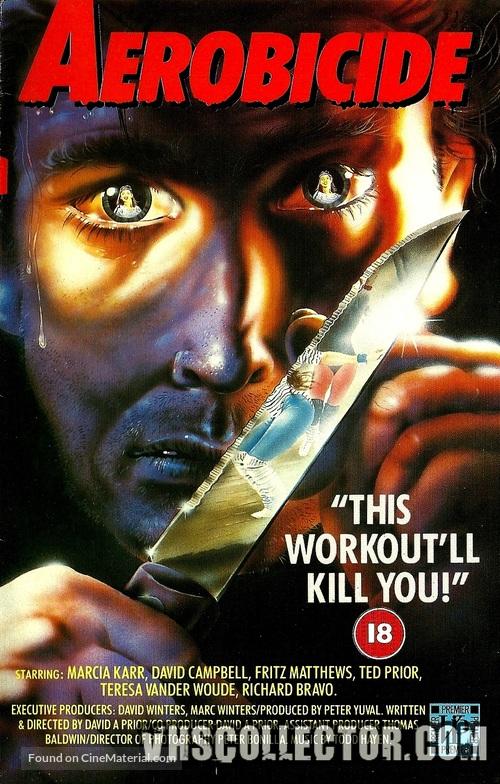 Killer Workout - British Movie Cover