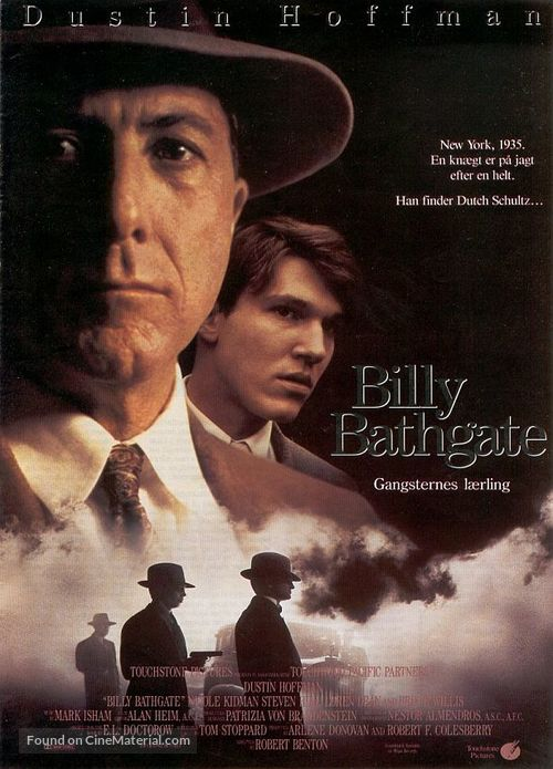 Billy Bathgate - Swedish Movie Poster