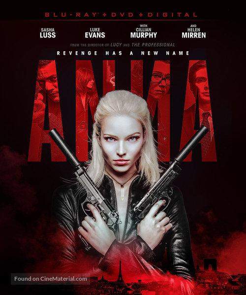 Anna - Blu-Ray movie cover