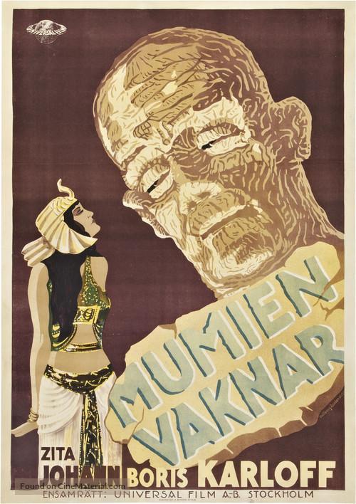The Mummy - Swedish Movie Poster