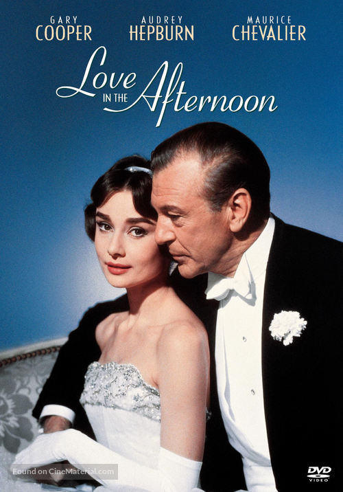 Love in the Afternoon - DVD movie cover