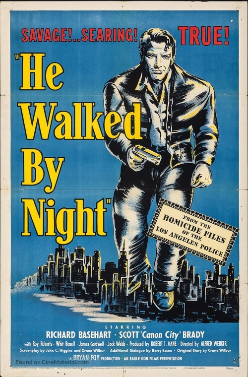 He Walked by Night - Movie Poster