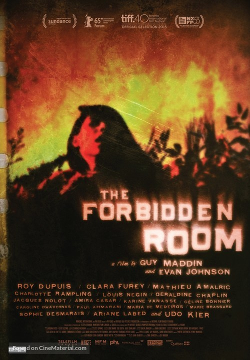 The Forbidden Room - Canadian Movie Poster