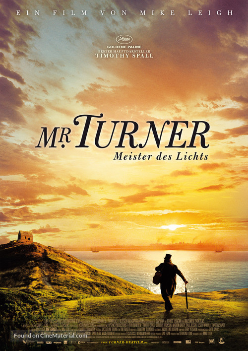 Mr. Turner - German Movie Poster