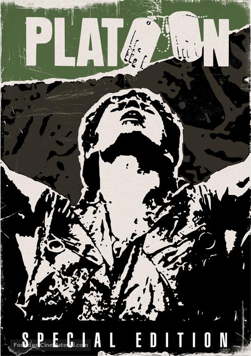 Platoon - DVD movie cover