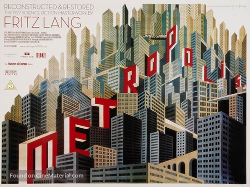 Metropolis - British Movie Poster