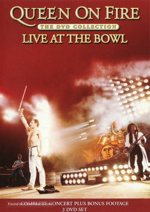 Queen on Fire: Live at the Bowl - Movie Cover