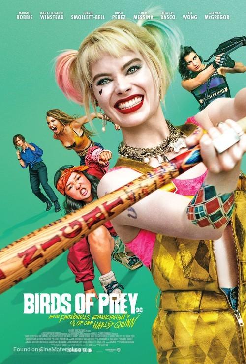 Harley Quinn: Birds of Prey - International Movie Poster