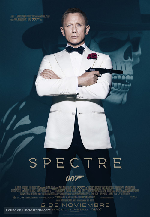 Spectre - Spanish Movie Poster