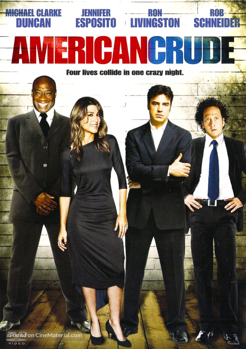 American Crude - DVD movie cover