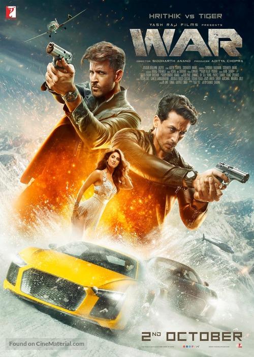 War - Indian Movie Poster