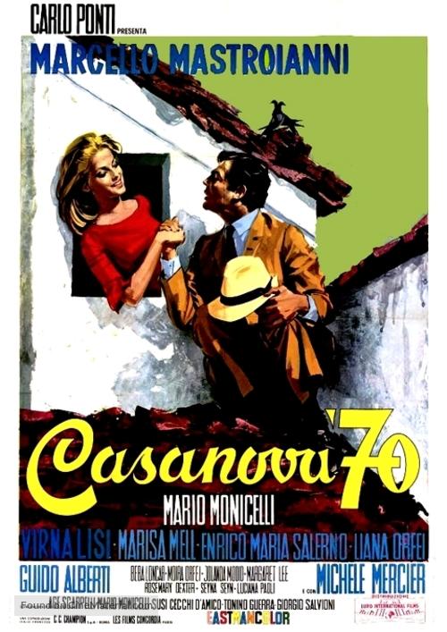 Casanova '70 - Italian Movie Poster