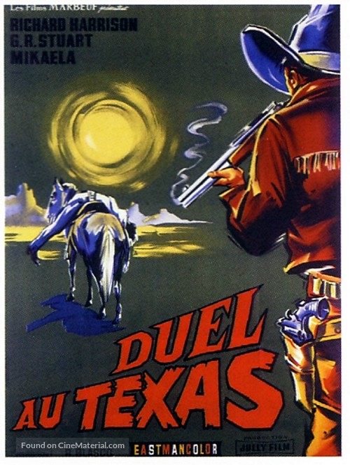 Duello nel Texas - French Movie Poster