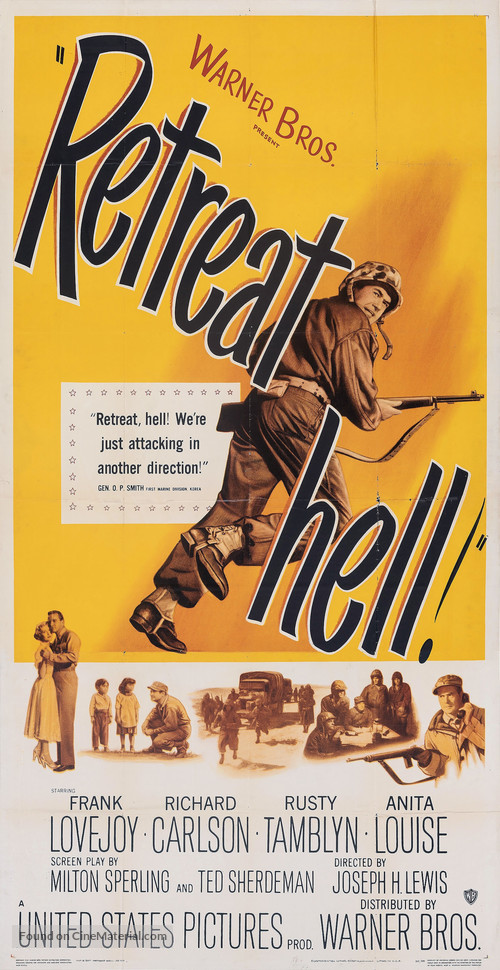 Retreat, Hell! - Movie Poster