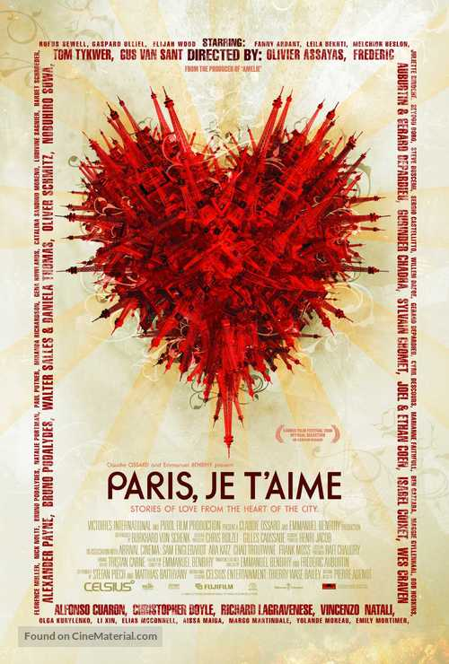 Paris, je t'aime - Movie Poster