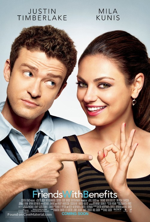 Friends with Benefits - Movie Poster