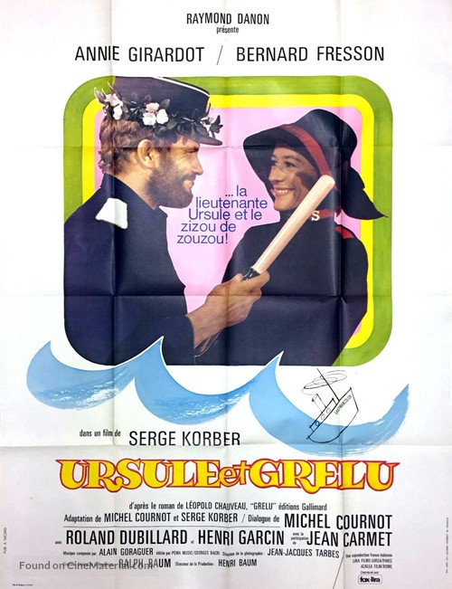 Ursule et Grelu - French Movie Poster