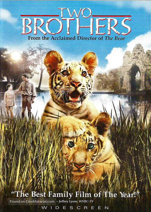 Two Brothers - DVD movie cover