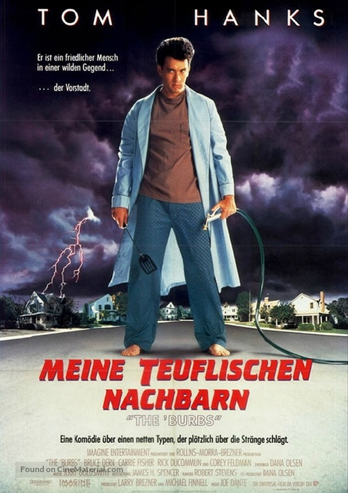 The 'Burbs - German Movie Poster
