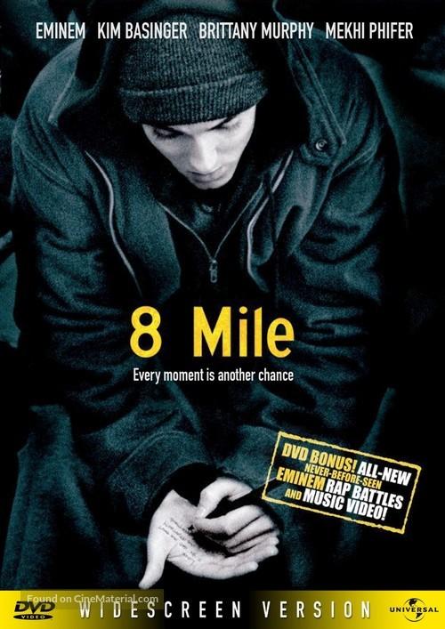 8 Mile 2002 Dvd Movie Cover