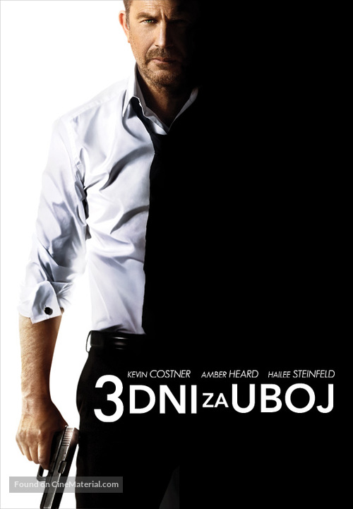 3 Days to Kill - Slovenian Movie Poster